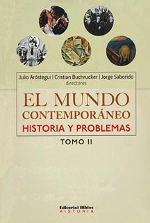 EL MUNDO CONTEMPORANEO: HISTORIA Y PROBLEMAS