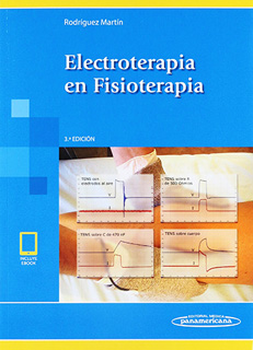 ELECTROTERAPIA EN FISIOTERAPIA (INCLUYE EBOOK)