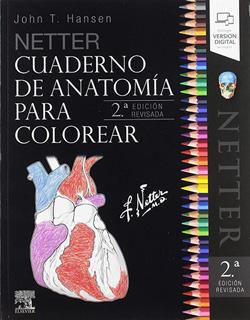 NETTER: CUADERNO DE ANATOMIA PARA COLOREAR (ED....