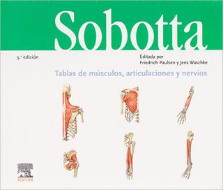 SOBOTTA: TABLAS DE MUSCULOS, ARTICULACIONES Y...