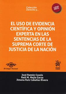 EL USO DE EVIDENCIA CIENTIFICA Y OPINION EXPERTA...