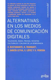ALTERNATIVAS EN LOS MEDIOS DE COMUNICACION DIGITAL