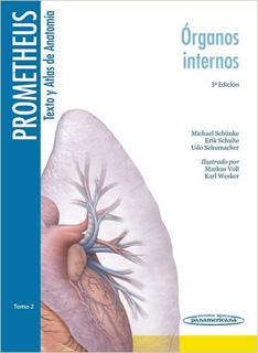PROMETHEUS TEXTO Y ATLAS DE ANATOMIA TOMO 2: ORGANOS INTERNOS