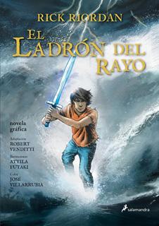 PERCY JACKSON VOL. 1: EL LADRON DEL RAYO (NOVELA GRAFICA)
