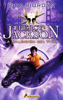 PERCY JACKSON VOL. 3: LA MALDICION DEL TITAN