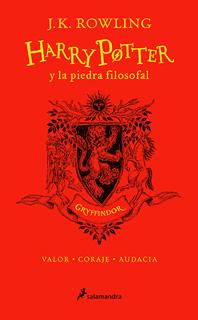 HARRY POTTER 1 Y LA PIEDRA FILOSOFAL. CASA GRYFFINDOR