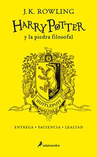 HARRY POTTER 1 Y LA PIEDRA FILOSOFAL. CASA HUFFLEPUFF