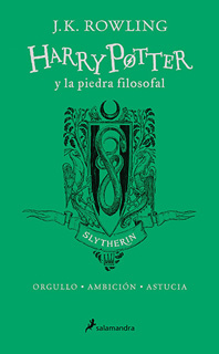 HARRY POTTER 1 Y LA PIEDRA FILOSOFAL. SLYTHERIN...