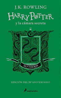 HARRY POTTER 2 Y LA CAMARA SECRETA. CASA SLYTHERIN