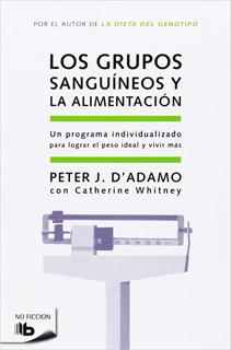LOS GRUPOS SANGUINEOS Y LA ALIMENTACION