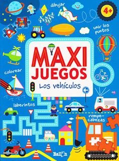 MAXI JUEGOS: LOS VEHICULOS