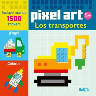 LOS TRANSPORTES (PIXEL ART)
