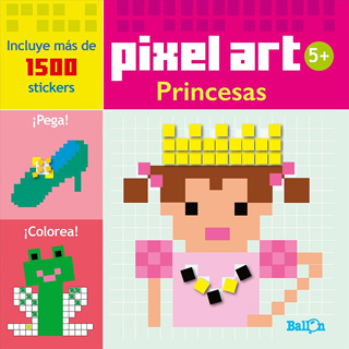 PRINCESAS (PIXEL ART)