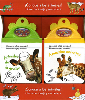 2 PACK ANIMALES DE LA GRANJA - ANIMALES SALVAJES