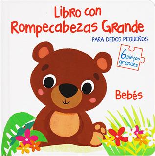 LIBRO CON ROMPECABEZAS GRANDE PARA DEDOS...