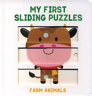 MY FIRST SLIDING PUZZLES: FARM ANIMALS