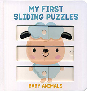 MY FIRST SLIDING PUZZLES: BABY ANIMALS
