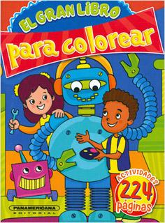 EL GRAN LIBRO PARA COLOREAR TOMO 4
