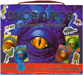 DINOSAURIOS: CALCOMANIAS Y DIVERSION