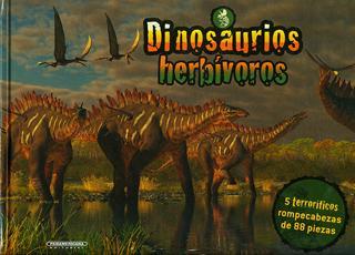 DINOSAURIOS HERBIVOROS (INCLUYE ROMPECABEZAS)