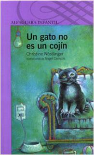 UN GATO NO ES UN COJIN (SERIE MORADA)