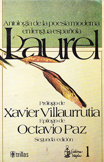 LAUREL: ANTOLOGIA DE LA POESIA MODERNA