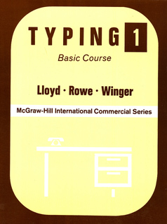 TYPING 1: BASIC COURSE
