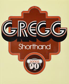 GREGG SHORTHAND SERIE 90
