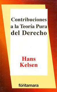 CONTRIBUCIONES A LA TEORIA PURA DERECHO