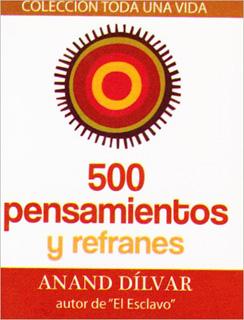 500 PENSAMIENTOS Y REFRANES (MINI)