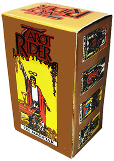 TAROT MINI RIDER (INCLUYE 78 CARTAS Y MANUAL)
