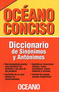 DICCIONARIO OCEANO: CONCISO DE SINONIMOS Y...