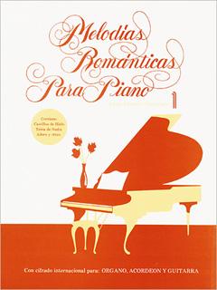 MELODIAS ROMANTICAS PARA PIANO 1 (CON CIFRADO...