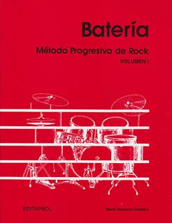 BATERIA: METODO PROGRESIVO DE ROCK VOLUMEN 1