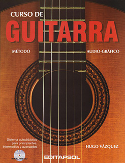 CURSO DE GUITARRA: METODO AUDIO-GRAFICO (INCLUYE...