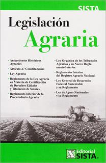 LEGISLACION AGRARIA 2019