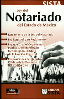 LEY DEL NOTARIADO DEL ESTADO DE MEXICO 2019