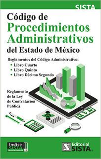 CODIGO DE PROCEDIMIENTOS ADMINISTRATIVOS DEL ESTADO DE MEXICO 2019