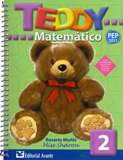 TEDDY MATEMATICO 2 PREESCOLAR (INCLUYE CD)