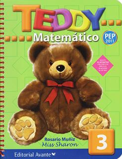 TEDDY MATEMATICO 3 PREESCOLAR (INCLUYE CD)