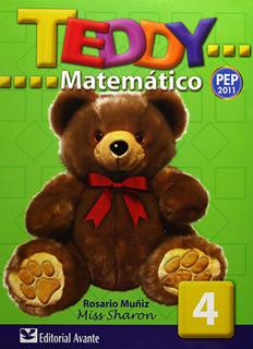 TEDDY MATEMATICO 4 PREESCOLAR (INCLUYE CD)