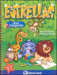 ESTRELLAS 3 LIBRO INTEGRADO PREESCOLAR