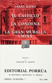 CASTILLO - LA CONDENA - LA GRAN MURALLA CHINA