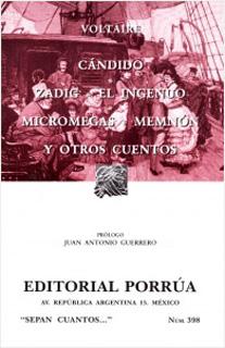 CANDIDO - ZADIG - EL INGENUO - MICROMEGAS -...
