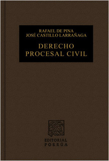 INSTITUCIONES DE DERECHO PROCESAL CIVIL