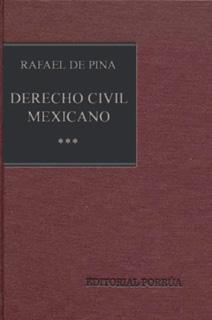 DERECHO CIVIL MEXICANO 3: OBLIGACIONES CIVILES...