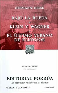 BAJO LA RUEDA - KLEIN Y WAGNER - EL ULTIMO VERANO...