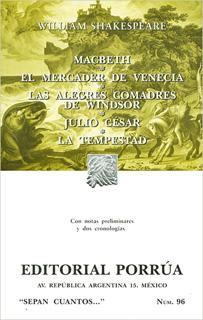 MACBETH - MERCADER DE VENECIA - ALEGRES COMADRES...