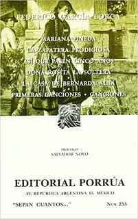 MARIANA PINEDA - LA ZAPATERA PRODIGIOSA - LA CASA...