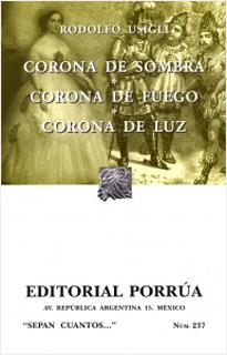 CORONA DE SOMBRA - CORONA DE FUEGO - CORONA DE LUZ
